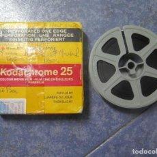 Cine: ANTIGUA BOBINA PELÍCULA-FILMACIONES -AMATEUR-SIERRA LEONA-AÑOS 80 16 MM, RETRO VINTAGE FILM. Lote 194300253