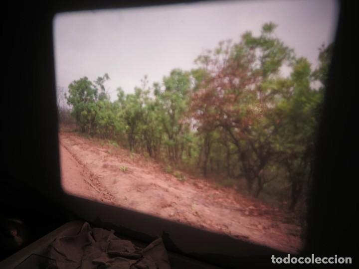 Cine: ANTIGUA BOBINA PELÍCULA-FILMACIONES -AMATEUR-SIERRA LEONA-AÑOS 80 16 MM, RETRO VINTAGE FILM - Foto 7 - 194300253