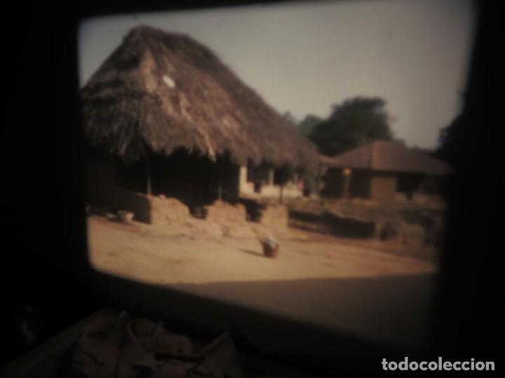 Cine: ANTIGUA BOBINA PELÍCULA-FILMACIONES -AMATEUR-SIERRA LEONA-AÑOS 80 16 MM, RETRO VINTAGE FILM - Foto 14 - 194300253