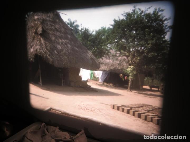 Cine: ANTIGUA BOBINA PELÍCULA-FILMACIONES -AMATEUR-SIERRA LEONA-AÑOS 80 16 MM, RETRO VINTAGE FILM - Foto 20 - 194300253