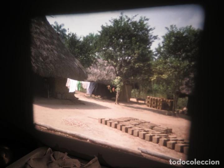 Cine: ANTIGUA BOBINA PELÍCULA-FILMACIONES -AMATEUR-SIERRA LEONA-AÑOS 80 16 MM, RETRO VINTAGE FILM - Foto 21 - 194300253