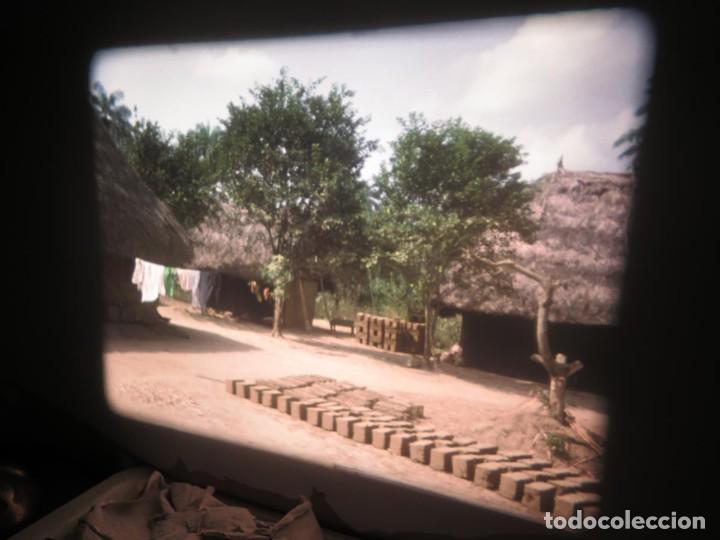 Cine: ANTIGUA BOBINA PELÍCULA-FILMACIONES -AMATEUR-SIERRA LEONA-AÑOS 80 16 MM, RETRO VINTAGE FILM - Foto 22 - 194300253
