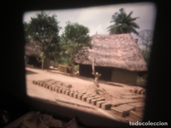 Cine: ANTIGUA BOBINA PELÍCULA-FILMACIONES -AMATEUR-SIERRA LEONA-AÑOS 80 16 MM, RETRO VINTAGE FILM - Foto 23 - 194300253