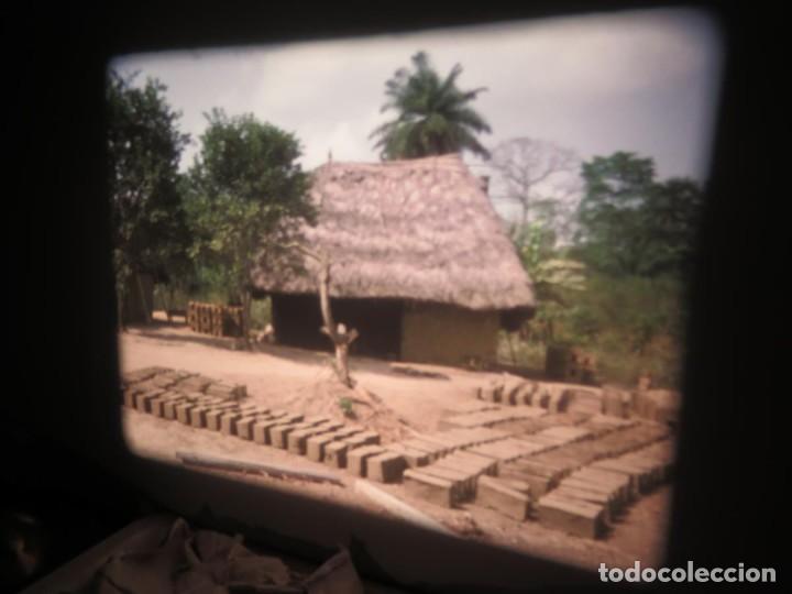 Cine: ANTIGUA BOBINA PELÍCULA-FILMACIONES -AMATEUR-SIERRA LEONA-AÑOS 80 16 MM, RETRO VINTAGE FILM - Foto 24 - 194300253