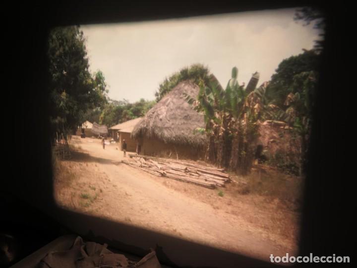 Cine: ANTIGUA BOBINA PELÍCULA-FILMACIONES -AMATEUR-SIERRA LEONA-AÑOS 80 16 MM, RETRO VINTAGE FILM - Foto 27 - 194300253