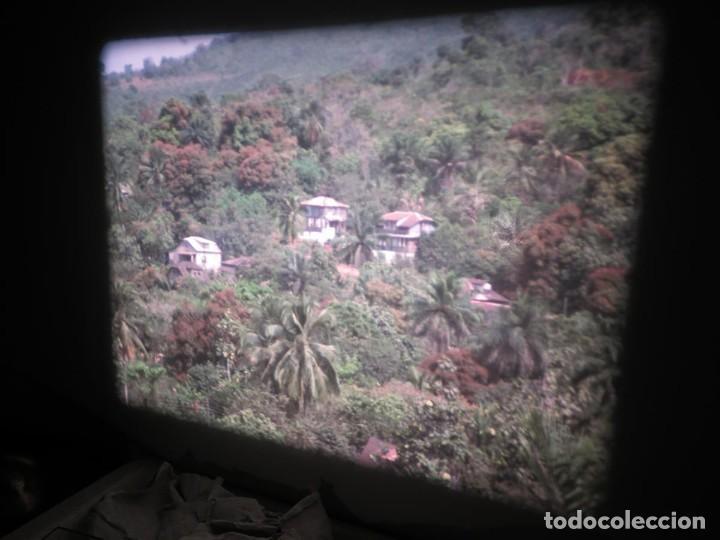 Cine: ANTIGUA BOBINA PELÍCULA-FILMACIONES -AMATEUR-SIERRA LEONA-AÑOS 80 16 MM, RETRO VINTAGE FILM - Foto 33 - 194300253