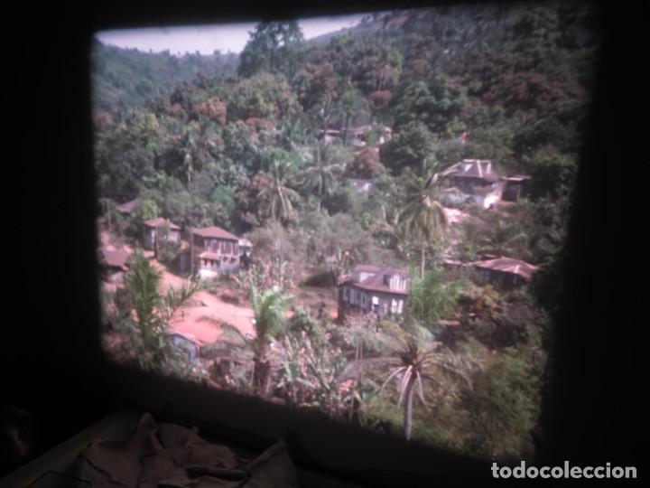 Cine: ANTIGUA BOBINA PELÍCULA-FILMACIONES -AMATEUR-SIERRA LEONA-AÑOS 80 16 MM, RETRO VINTAGE FILM - Foto 34 - 194300253