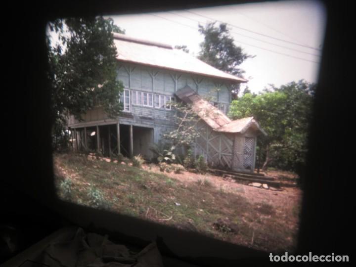 Cine: ANTIGUA BOBINA PELÍCULA-FILMACIONES -AMATEUR-SIERRA LEONA-AÑOS 80 16 MM, RETRO VINTAGE FILM - Foto 40 - 194300253