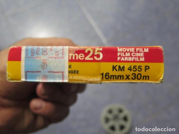Cine: ANTIGUA BOBINA PELÍCULA-FILMACIONES -AMATEUR-SIERRA LEONA-AÑOS 80 16 MM, RETRO VINTAGE FILM - Foto 52 - 194300253