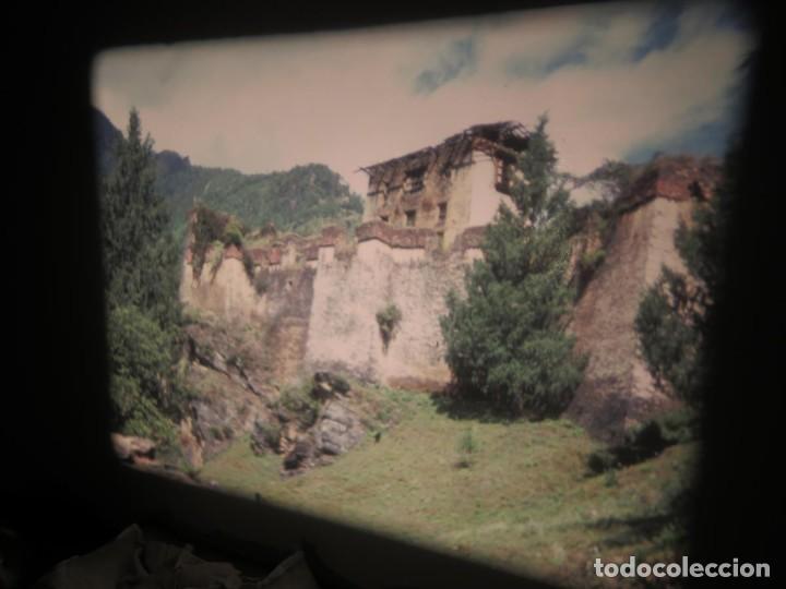 Cine: ANTIGUA BOBINA PELÍCULA-FILMACIONESAMATEUR -BOUTHAN TERMINÉ Á THIMPHU-AÑOS 80-16 MM, RETRO VINTAGE - Foto 4 - 194668903