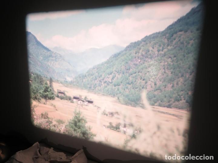 Cine: ANTIGUA BOBINA PELÍCULA-FILMACIONESAMATEUR -BOUTHAN TERMINÉ Á THIMPHU-AÑOS 80-16 MM, RETRO VINTAGE - Foto 5 - 194668903