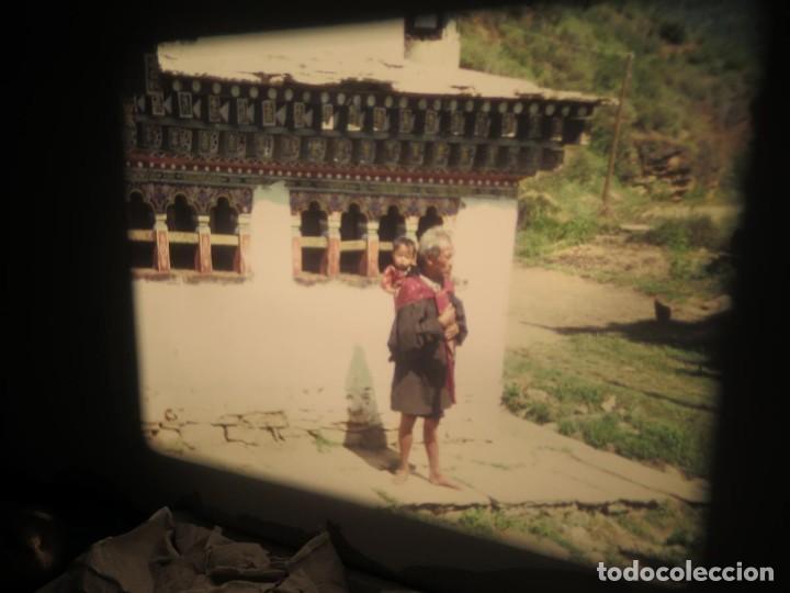 Cine: ANTIGUA BOBINA PELÍCULA-FILMACIONESAMATEUR -BOUTHAN TERMINÉ Á THIMPHU-AÑOS 80-16 MM, RETRO VINTAGE - Foto 9 - 194668903