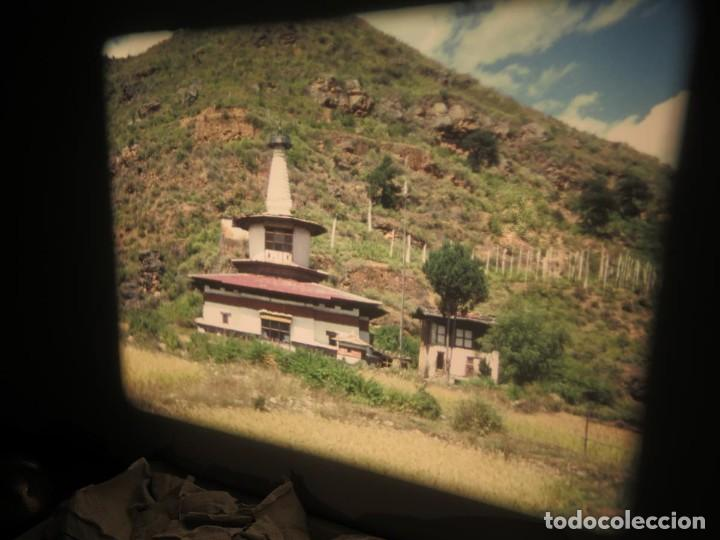 Cine: ANTIGUA BOBINA PELÍCULA-FILMACIONESAMATEUR -BOUTHAN TERMINÉ Á THIMPHU-AÑOS 80-16 MM, RETRO VINTAGE - Foto 10 - 194668903