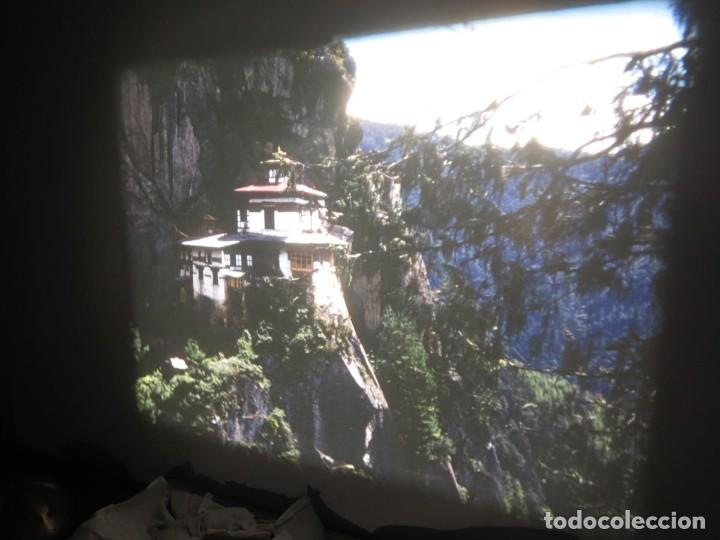 Cine: ANTIGUA BOBINA PELÍCULA-FILMACIONESAMATEUR -BOUTHAN TERMINÉ Á THIMPHU-AÑOS 80-16 MM, RETRO VINTAGE - Foto 22 - 194668903