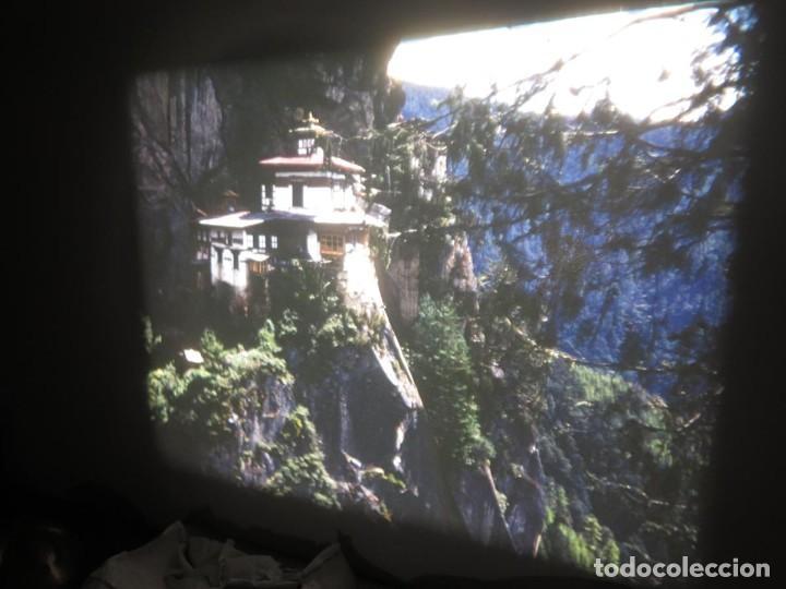 Cine: ANTIGUA BOBINA PELÍCULA-FILMACIONESAMATEUR -BOUTHAN TERMINÉ Á THIMPHU-AÑOS 80-16 MM, RETRO VINTAGE - Foto 23 - 194668903
