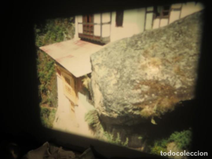 Cine: ANTIGUA BOBINA PELÍCULA-FILMACIONESAMATEUR -BOUTHAN TERMINÉ Á THIMPHU-AÑOS 80-16 MM, RETRO VINTAGE - Foto 24 - 194668903