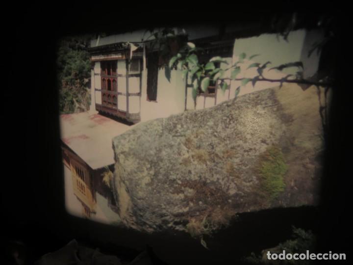 Cine: ANTIGUA BOBINA PELÍCULA-FILMACIONESAMATEUR -BOUTHAN TERMINÉ Á THIMPHU-AÑOS 80-16 MM, RETRO VINTAGE - Foto 25 - 194668903