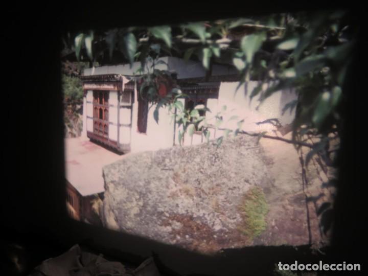 Cine: ANTIGUA BOBINA PELÍCULA-FILMACIONESAMATEUR -BOUTHAN TERMINÉ Á THIMPHU-AÑOS 80-16 MM, RETRO VINTAGE - Foto 26 - 194668903