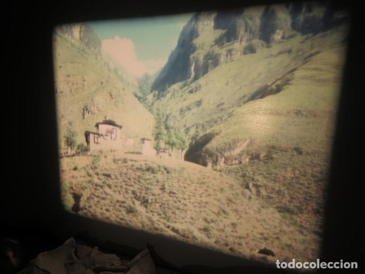 Cine: ANTIGUA BOBINA PELÍCULA-FILMACIONESAMATEUR -BOUTHAN TERMINÉ Á THIMPHU-AÑOS 80-16 MM, RETRO VINTAGE - Foto 28 - 194668903