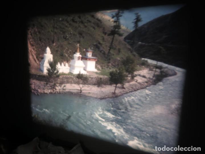 Cine: ANTIGUA BOBINA PELÍCULA-FILMACIONESAMATEUR -BOUTHAN TERMINÉ Á THIMPHU-AÑOS 80-16 MM, RETRO VINTAGE - Foto 29 - 194668903