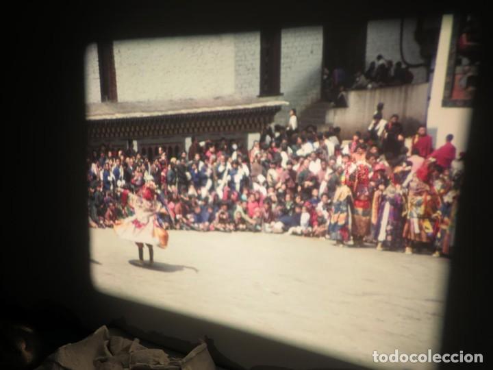 Cine: ANTIGUA BOBINA PELÍCULA-FILMACIONESAMATEUR -BOUTHAN TERMINÉ Á THIMPHU-AÑOS 80-16 MM, RETRO VINTAGE - Foto 34 - 194668903