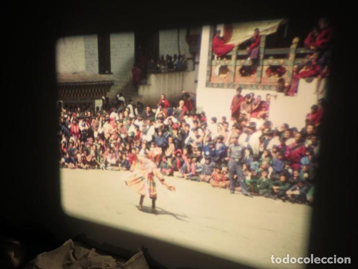 Cine: ANTIGUA BOBINA PELÍCULA-FILMACIONESAMATEUR -BOUTHAN TERMINÉ Á THIMPHU-AÑOS 80-16 MM, RETRO VINTAGE - Foto 39 - 194668903
