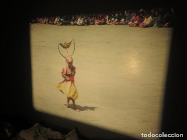 Cine: ANTIGUA BOBINA PELÍCULA-FILMACIONESAMATEUR -BOUTHAN TERMINÉ Á THIMPHU-AÑOS 80-16 MM, RETRO VINTAGE - Foto 40 - 194668903