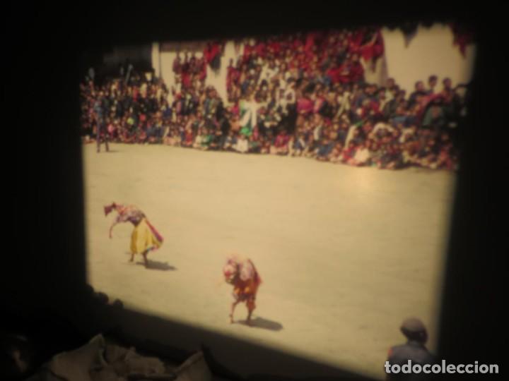 Cine: ANTIGUA BOBINA PELÍCULA-FILMACIONESAMATEUR -BOUTHAN TERMINÉ Á THIMPHU-AÑOS 80-16 MM, RETRO VINTAGE - Foto 41 - 194668903
