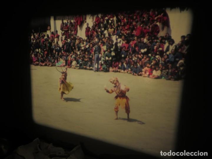 Cine: ANTIGUA BOBINA PELÍCULA-FILMACIONESAMATEUR -BOUTHAN TERMINÉ Á THIMPHU-AÑOS 80-16 MM, RETRO VINTAGE - Foto 44 - 194668903