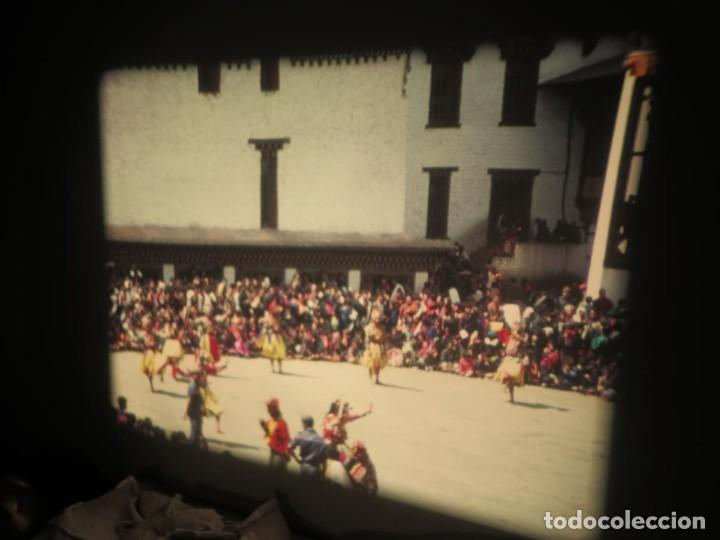 Cine: ANTIGUA BOBINA PELÍCULA-FILMACIONESAMATEUR -BOUTHAN TERMINÉ Á THIMPHU-AÑOS 80-16 MM, RETRO VINTAGE - Foto 45 - 194668903