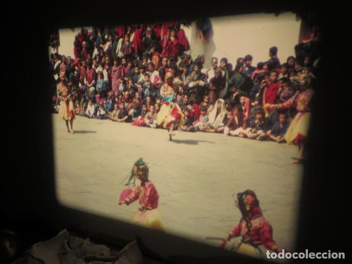 Cine: ANTIGUA BOBINA PELÍCULA-FILMACIONESAMATEUR -BOUTHAN TERMINÉ Á THIMPHU-AÑOS 80-16 MM, RETRO VINTAGE - Foto 47 - 194668903