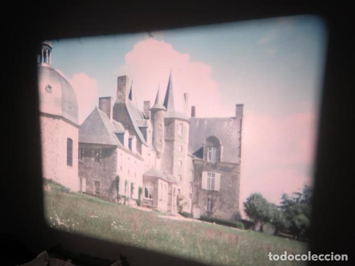 Cine: ANTIGUA BOBINA PELÍCULA-FILMACIONES AMATEUR,De Vendôme á Saint-Malo-AÑOS 80- 6 MM, RETRO VINTAGE - Foto 2 - 194669241