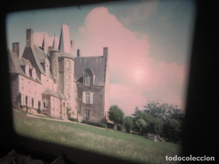 Cine: ANTIGUA BOBINA PELÍCULA-FILMACIONES AMATEUR,De Vendôme á Saint-Malo-AÑOS 80- 6 MM, RETRO VINTAGE - Foto 3 - 194669241