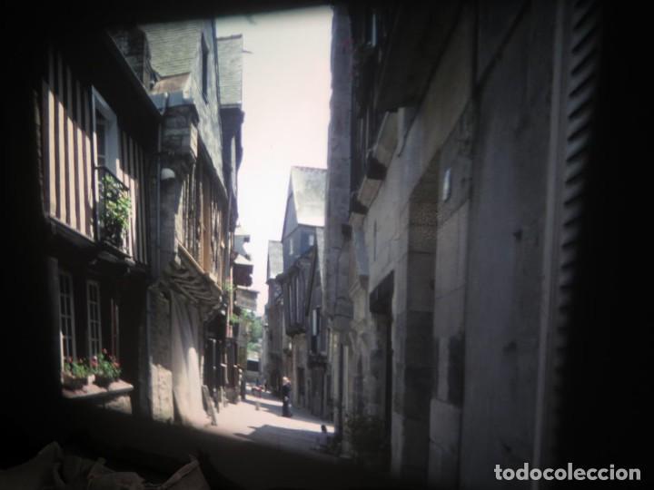 Cine: ANTIGUA BOBINA PELÍCULA-FILMACIONES AMATEUR,De Vendôme á Saint-Malo-AÑOS 80- 6 MM, RETRO VINTAGE - Foto 4 - 194669241