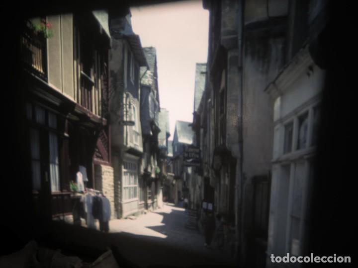 Cine: ANTIGUA BOBINA PELÍCULA-FILMACIONES AMATEUR,De Vendôme á Saint-Malo-AÑOS 80- 6 MM, RETRO VINTAGE - Foto 5 - 194669241