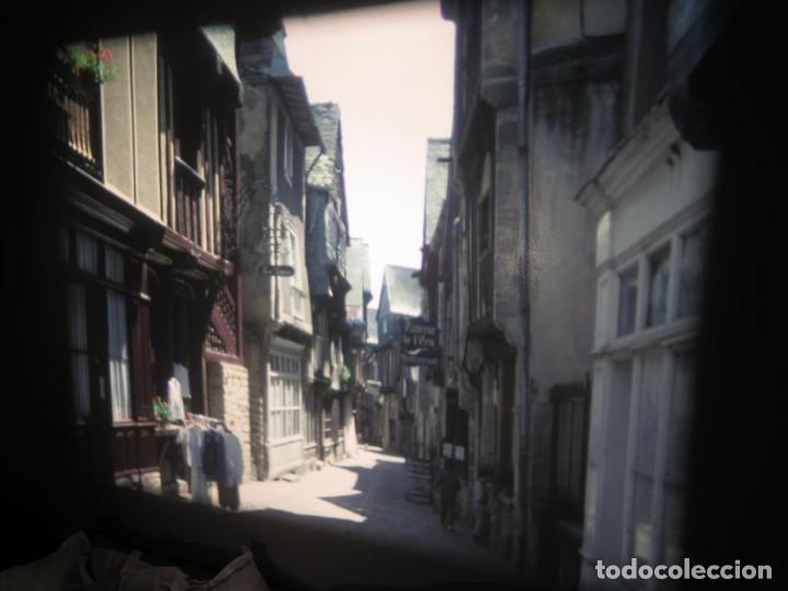 Cine: ANTIGUA BOBINA PELÍCULA-FILMACIONES AMATEUR,De Vendôme á Saint-Malo-AÑOS 80- 6 MM, RETRO VINTAGE - Foto 6 - 194669241
