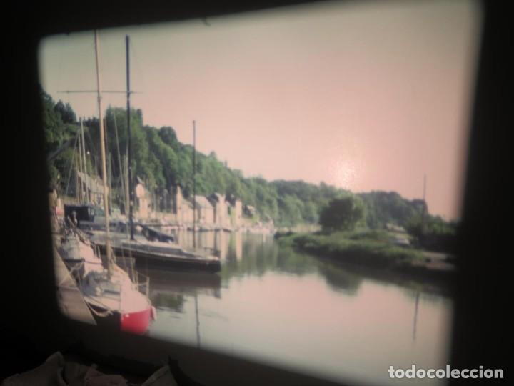 Cine: ANTIGUA BOBINA PELÍCULA-FILMACIONES AMATEUR,De Vendôme á Saint-Malo-AÑOS 80- 6 MM, RETRO VINTAGE - Foto 8 - 194669241