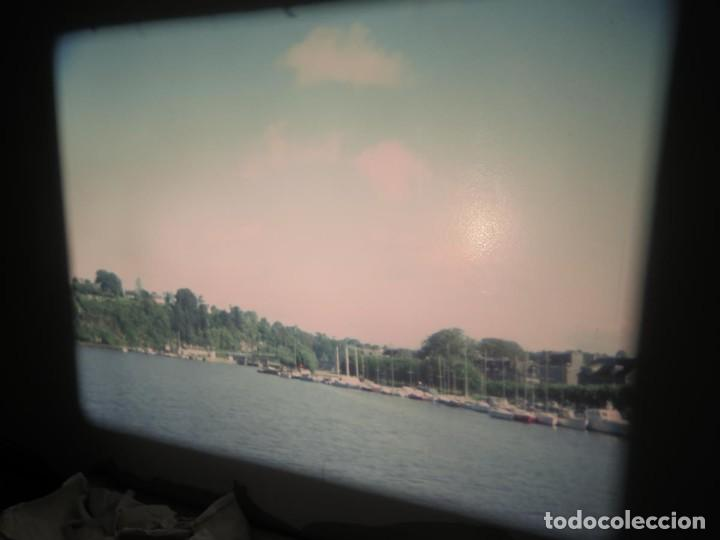 Cine: ANTIGUA BOBINA PELÍCULA-FILMACIONES AMATEUR,De Vendôme á Saint-Malo-AÑOS 80- 6 MM, RETRO VINTAGE - Foto 11 - 194669241