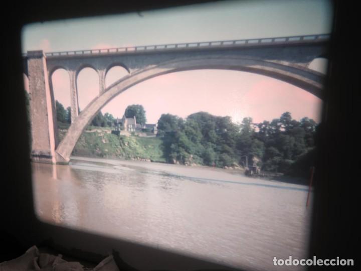 Cine: ANTIGUA BOBINA PELÍCULA-FILMACIONES AMATEUR,De Vendôme á Saint-Malo-AÑOS 80- 6 MM, RETRO VINTAGE - Foto 12 - 194669241