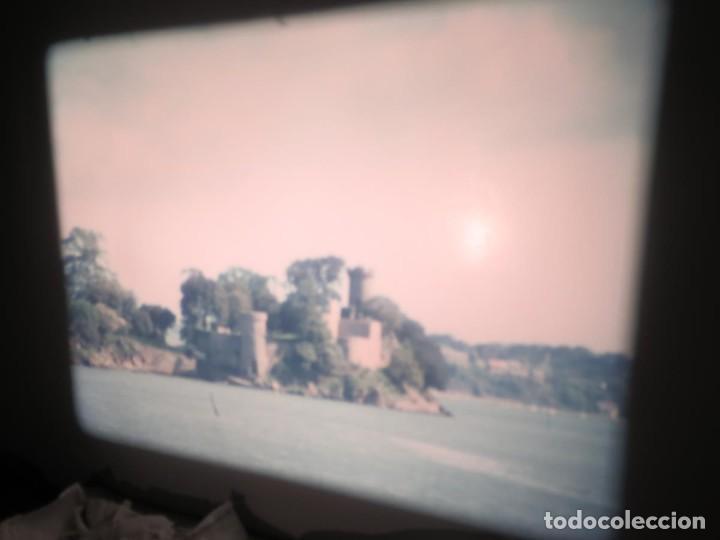 Cine: ANTIGUA BOBINA PELÍCULA-FILMACIONES AMATEUR,De Vendôme á Saint-Malo-AÑOS 80- 6 MM, RETRO VINTAGE - Foto 14 - 194669241