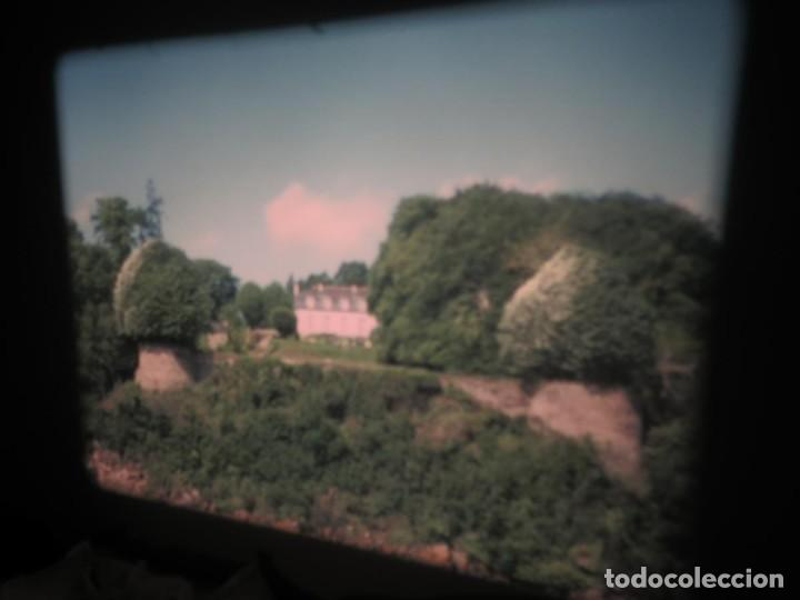 Cine: ANTIGUA BOBINA PELÍCULA-FILMACIONES AMATEUR,De Vendôme á Saint-Malo-AÑOS 80- 6 MM, RETRO VINTAGE - Foto 16 - 194669241