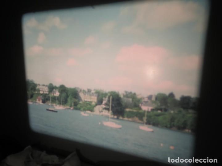 Cine: ANTIGUA BOBINA PELÍCULA-FILMACIONES AMATEUR,De Vendôme á Saint-Malo-AÑOS 80- 6 MM, RETRO VINTAGE - Foto 17 - 194669241