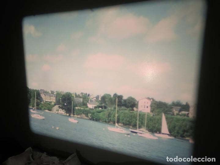 Cine: ANTIGUA BOBINA PELÍCULA-FILMACIONES AMATEUR,De Vendôme á Saint-Malo-AÑOS 80- 6 MM, RETRO VINTAGE - Foto 18 - 194669241