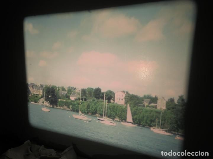 Cine: ANTIGUA BOBINA PELÍCULA-FILMACIONES AMATEUR,De Vendôme á Saint-Malo-AÑOS 80- 6 MM, RETRO VINTAGE - Foto 19 - 194669241