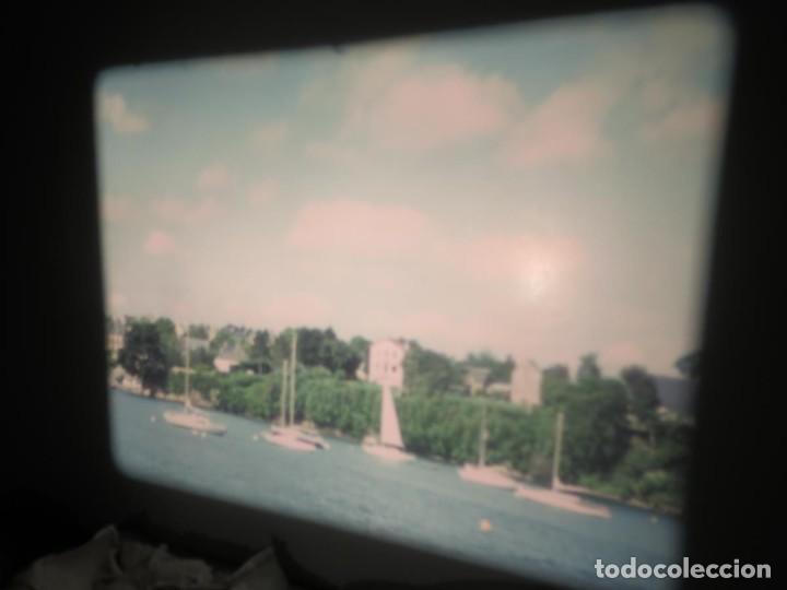 Cine: ANTIGUA BOBINA PELÍCULA-FILMACIONES AMATEUR,De Vendôme á Saint-Malo-AÑOS 80- 6 MM, RETRO VINTAGE - Foto 20 - 194669241