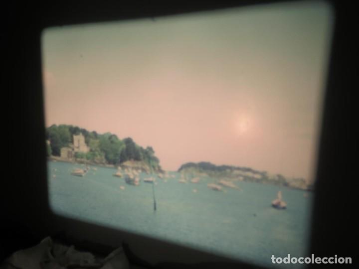 Cine: ANTIGUA BOBINA PELÍCULA-FILMACIONES AMATEUR,De Vendôme á Saint-Malo-AÑOS 80- 6 MM, RETRO VINTAGE - Foto 21 - 194669241