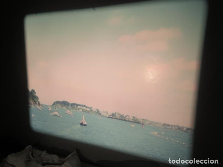 Cine: ANTIGUA BOBINA PELÍCULA-FILMACIONES AMATEUR,De Vendôme á Saint-Malo-AÑOS 80- 6 MM, RETRO VINTAGE - Foto 22 - 194669241