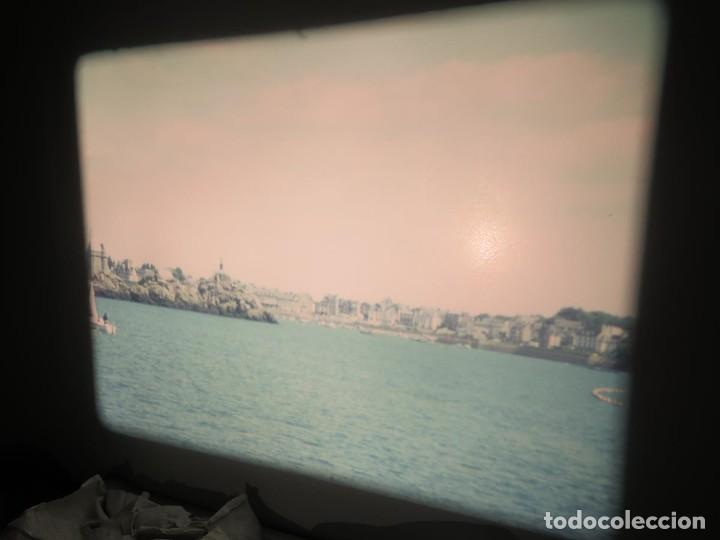 Cine: ANTIGUA BOBINA PELÍCULA-FILMACIONES AMATEUR,De Vendôme á Saint-Malo-AÑOS 80- 6 MM, RETRO VINTAGE - Foto 23 - 194669241