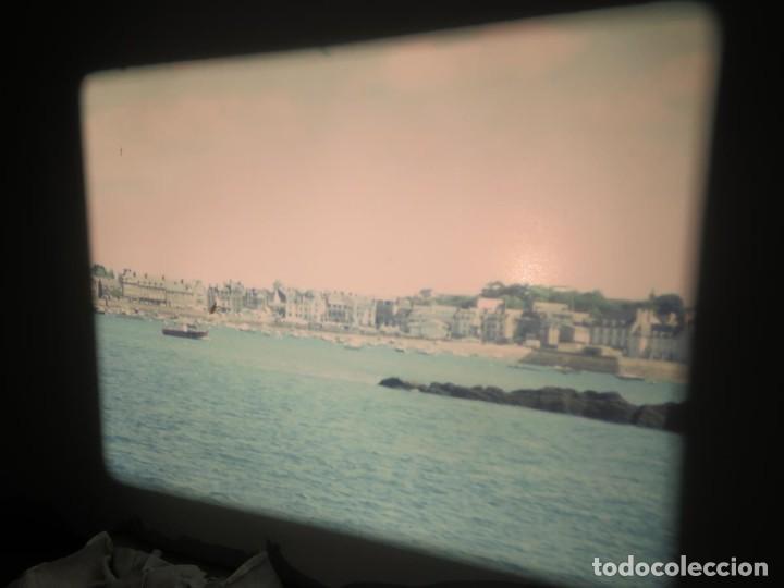 Cine: ANTIGUA BOBINA PELÍCULA-FILMACIONES AMATEUR,De Vendôme á Saint-Malo-AÑOS 80- 6 MM, RETRO VINTAGE - Foto 24 - 194669241