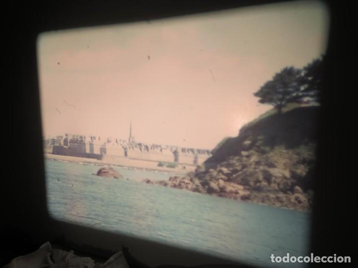 Cine: ANTIGUA BOBINA PELÍCULA-FILMACIONES AMATEUR,De Vendôme á Saint-Malo-AÑOS 80- 6 MM, RETRO VINTAGE - Foto 25 - 194669241
